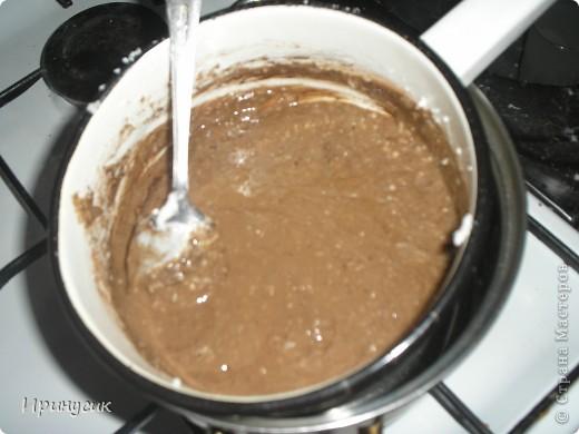 Вот такое мыло с шоколадными завитушками у меня получилось сегодня. фото 8
