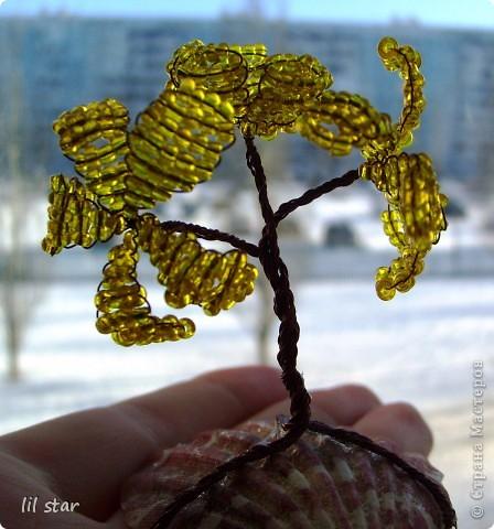 Букетик цветов делала полгода назад, схему брала в журнале Чудесные мгновения №11/2006 год. фото 9