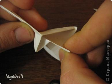 реалистичная лилия оригами фото 10