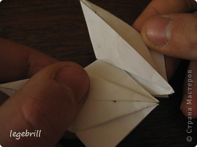 реалистичная лилия оригами фото 13