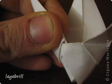 реалистичная лилия оригами фото 18