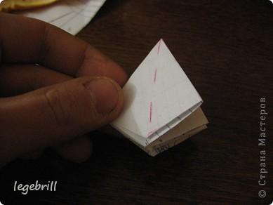 реалистичная лилия оригами фото 23