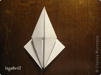 реалистичная лилия оригами фото 6
