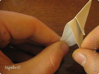 реалистичная лилия оригами фото 9