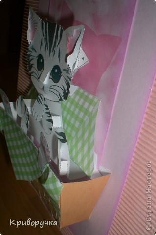 По ссылке http://stranamasterov.ru/node/96731?c=favorite , только основание сделала из гофрированного картона, розового цвета фото 3