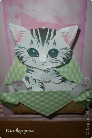 По ссылке http://stranamasterov.ru/node/96731?c=favorite , только основание сделала из гофрированного картона, розового цвета фото 2
