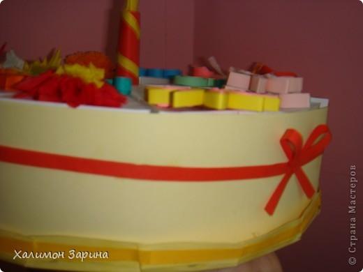 Тортик делала отсюда- http://stranamasterov.ru/node/25622, но старалась добавить что то свое. фото 4