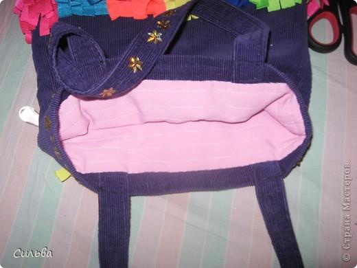 Хвастаюсь! Сшила детскую сумочку...)) фото 3