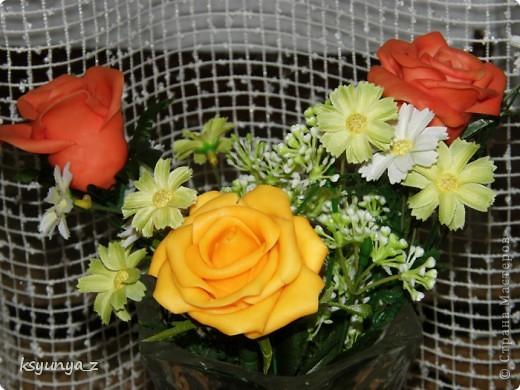 Добрый вечер, МАСТЕРИЦЫ! У меня сегодня прекрасное настроение и настоящий праздник. Первый раз за 4-е месяца мне удалось сделать розы без единой трещинки. Я просто на седьмом небе от счастья! Спасибо всем вам за ваши советы и участие :))))  фото 3