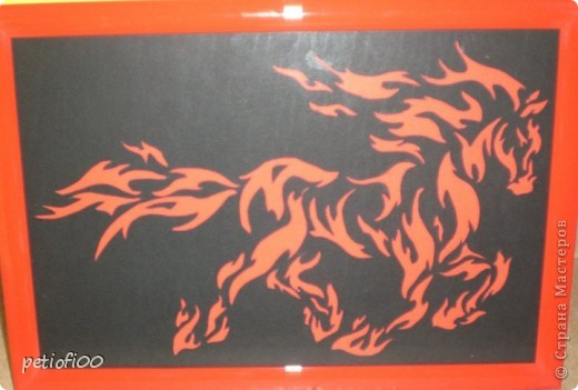 Огонь лошадь фото 1