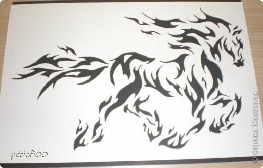 Огонь лошадь фото 2