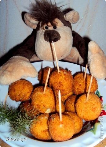 """""""Сырные шарики"""" фото 1"""