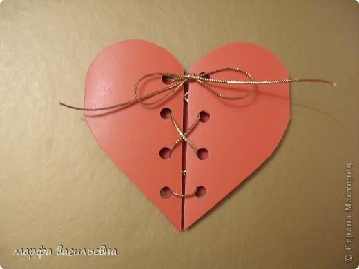 Скоро День Валентина.Хорошее настроение Почему бы не сделать открыточку. фото 2