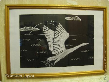 """Эта миниатюра сплетена по идее, найденной журнале """"Лена"""". фото 1"""