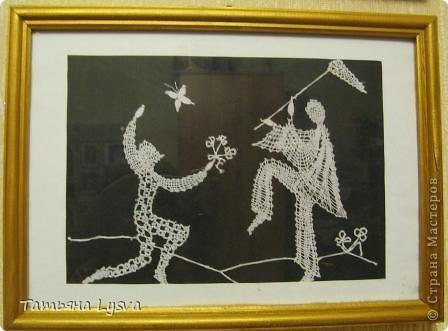 """Эта миниатюра сплетена по идее, найденной журнале """"Лена"""". фото 3"""