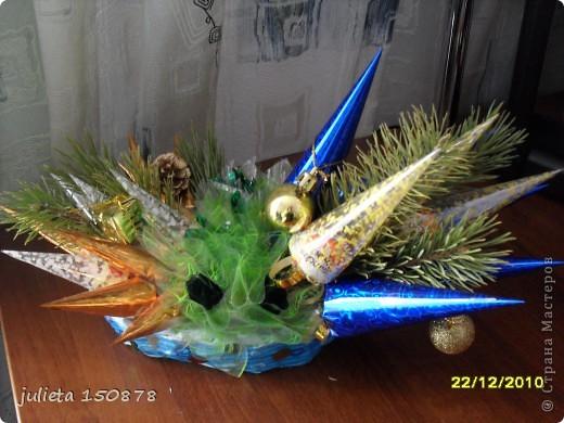 новогодние подарки с  конфетами фото 1