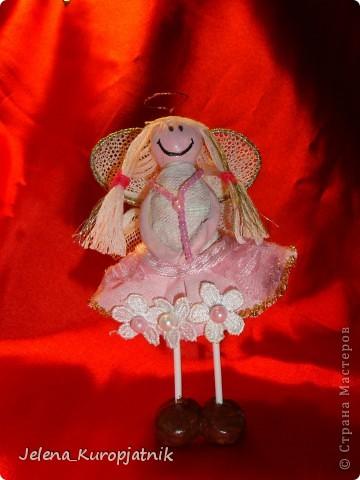 Мой первый ангел))))))))) Идею позаимствовала у Imlynija)))) фото 1