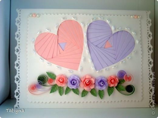 вот и у меня началась подготовка ко дню Св. Валентина, хочу показать вам мои валентинки фото 4