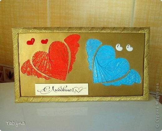 вот и у меня началась подготовка ко дню Св. Валентина, хочу показать вам мои валентинки фото 5