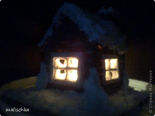 Вот сделала родителям в подарок на Новый год такой подсвечник по МК Чертенка № 13 http://stranamasterov.ru/node/112691?c=favorite фото 1