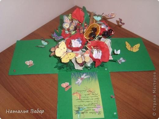 Вот такой подарок-сюрприз был создан для замечательной девушки Оли на её день рождения.  фото 1