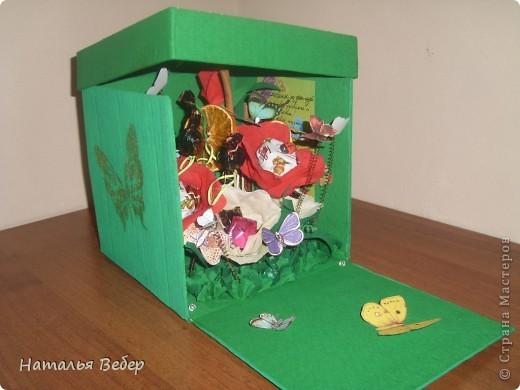 Вот такой подарок-сюрприз был создан для замечательной девушки Оли на её день рождения.  фото 3