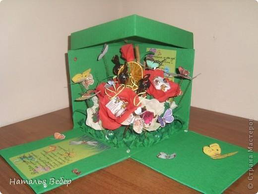Вот такой подарок-сюрприз был создан для замечательной девушки Оли на её день рождения.  фото 4