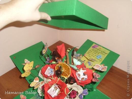 Вот такой подарок-сюрприз был создан для замечательной девушки Оли на её день рождения.  фото 6