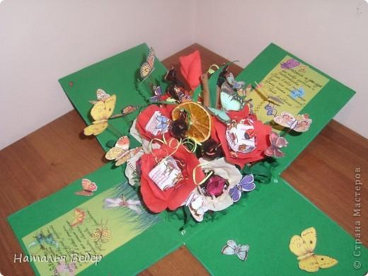 Вот такой подарок-сюрприз был создан для замечательной девушки Оли на её день рождения.  фото 7