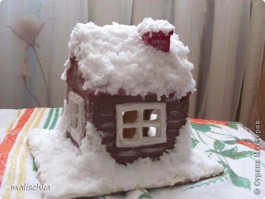 Вот сделала родителям в подарок на Новый год такой подсвечник по МК Чертенка № 13 http://stranamasterov.ru/node/112691?c=favorite фото 3