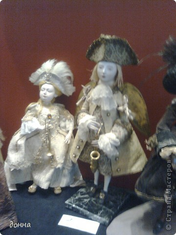 Куклы в исторических костюмах фото 1