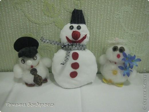 Фоторепортаж конкурса Снеговиков фото 2