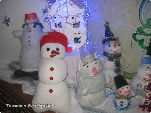 Фоторепортаж конкурса Снеговиков фото 5