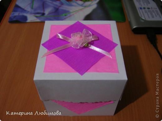 Коробочка-альбомчик для бабушки! фото 1