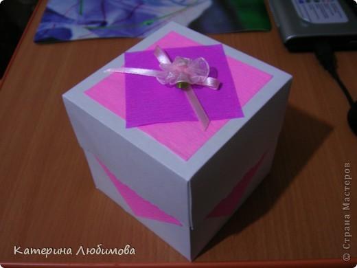 Коробочка-альбомчик для бабушки! фото 2