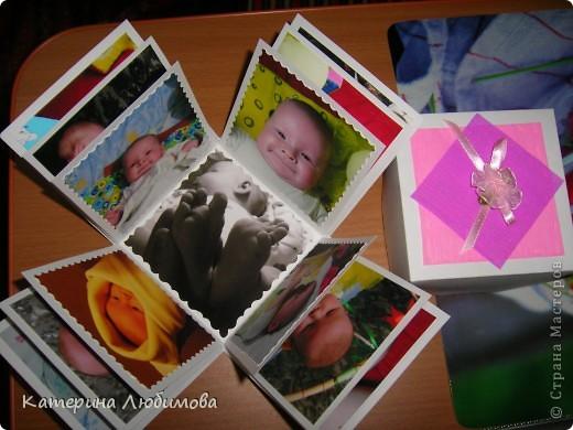 Коробочка-альбомчик для бабушки! фото 3
