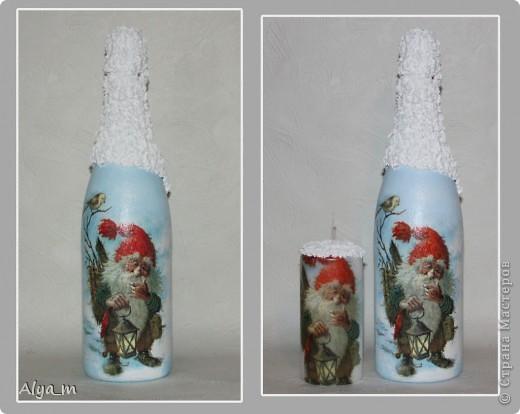 Новогодняя бутылка многоразового использования. фото 5