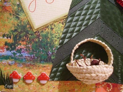 Я, как страстный любитель ходить по грибы ,решила что без этой открытки просто не обойтись! фото 2