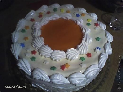 Январь в нашей семье богат на Дни рождения.  Это тортик мужу на ДР. фото 1