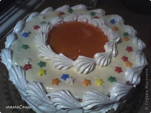 Январь в нашей семье богат на Дни рождения.  Это тортик мужу на ДР. фото 2