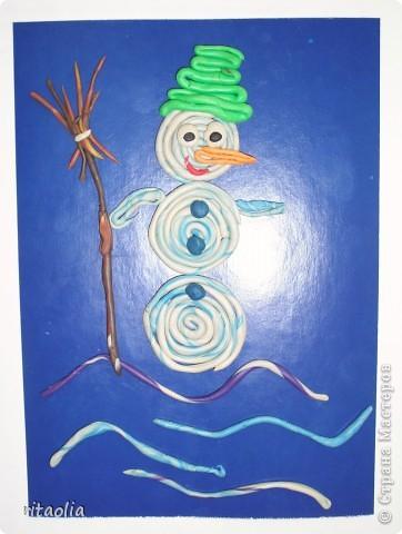 """""""Снеговик"""" - одно из старых названий января, говорящих само за себя. На этом занятии дети узнали историю перевоплощения Снеговика ... фото 1"""