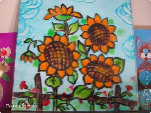 Казак на отдыхе. Роспись витражными крассками двухсторонняя. создает объем. фото 2
