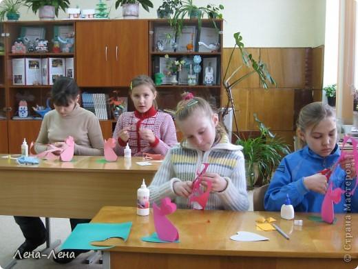 Таких сердечных мышек мы делали сегодня с ребятами. Спасибо мастерицам сайта за прекрасные идеи! МК http://stranamasterov.ru/node/47972 фото 3