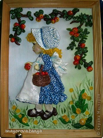 Девочка с яблоками фото 1