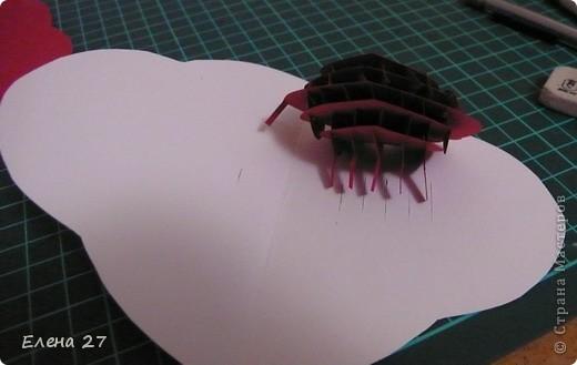 Мастер-класс Валентинов день Свадьба Киригами pop-up МК Сердце в руках Бумага фото 25