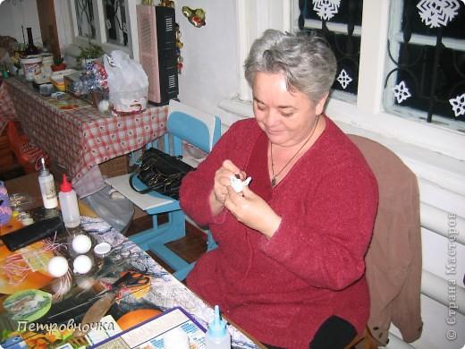 Рисунок тканью по пенопласту. как правильно назвать эту технику не знаю. фото 5