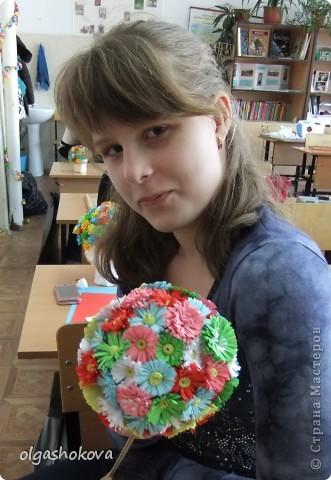 Букетики моих учениц фото 3
