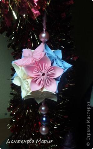 Получилась совсем маленькой и стала украшением на елке.