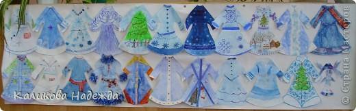 Попробовали побыть Юдашкиными)) Моделировать еще не умеем, но нарисовать общий вид платья у многих детей получилось. фото 6