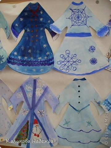 Попробовали побыть Юдашкиными)) Моделировать еще не умеем, но нарисовать общий вид платья у многих детей получилось. фото 4